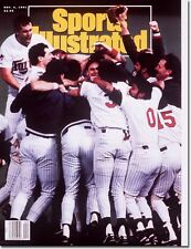 November 4, 1991 Minnesota Twins World Series SPORTS ILLUSTRATED NO LABEL