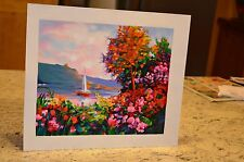 ALEX PEREZ ORIGINAL SERIGRAPH-LAKE VIEW-HAND SIGNED A/P WITH COA