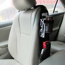 Auto Car Multi-Functional Side Seat Pockets Phone Drink Pen Storage Organizer
