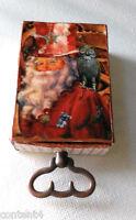 altered art mixed media christmas steampunk owl charm matchbox keepsake giftcard