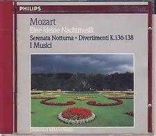 Mozart - I Musici: Eine kleine Nachtmusik; Serenata notturna; Divert. Like New