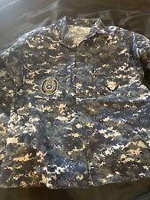 Usn Navy Uniform Jacket Pants Belt Blue Set Medium