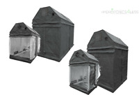 LightHouse Roof Loft 1.2m 2.4m Portable Grow Tent Room Silver Mylar Hydroponics