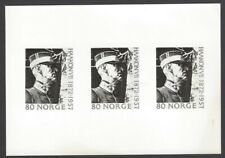 Norway #590 1972 King Haakon VII 3 step composite photographic proof