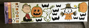 EUREKA PEANUTS HALLOWEEN BULLETIN BOARD SET, NIP! 77 Pieces NEW!