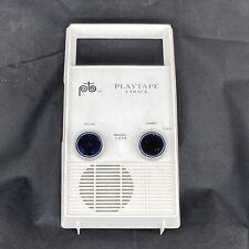 Vtg Playtape 2 Track 1310 Portable Radio Tape Cartridge Player