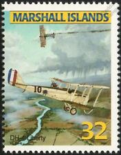 US Army WWI AIRCO de Havilland DH.4 LIBERTY Biplane Aircraft Mint Stamp (USAAC)