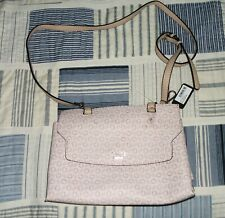 Guess Women's Pink Logo Design Cross Body Handbag NEW
