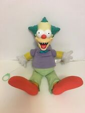 Simpsons Krusty The Clown Talking Good or Evil Doll Treehouse of Horror 2001