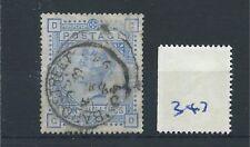 wbc. -  GB - QUEEN VICTORIA -  QV347 - 10/-d  - blue - SG 183