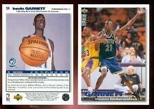Kevin Garnett RC 1995-96 CC UD Card Rookie 95 KG French