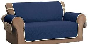 Innovative Textile Solutions Navy/Ivory Microfiber 5 Star Furniture Protector