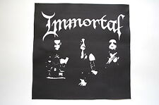 Immortal Back Patch (BP133) Black Death Metal Venom Dark Throne Emperor