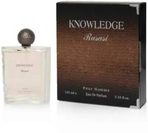 Rasasi Knowledge EDP - 100 ml -NEW SEALED BOX
