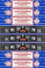 5 Box Nag Champa & 3 Box Super Hit Satya Sai Baba Incense 2017 series 15gm / Box