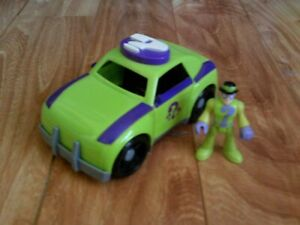 Fisher-Price Imaginext DC Super Friends The Riddler and Car Loose