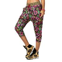 Zumba La Pachanga Long Harem Dance Pants - Shocking Pink Z1B00630