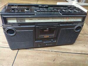 Vintage Hitachi TRK 5280e Rare Radio Cassette High Power Player