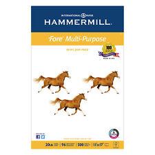 Hammermill Fore MP Multipurpose Paper 96 Brightness 20lb 11 x 17 White 500/Ream