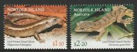 Norfolk Island 2021 : Lizards - Design set. Mint Never Hinged