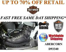 Harley-Davidson® D93340 Men's Abercorn Leather Motorcycle Boots