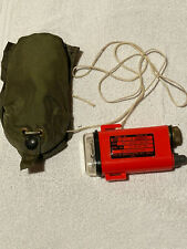 Us Army VietNam Era Survival Aircrew Distress Strobe Marker Light Signal Untest