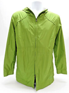 COLUMIBA XCO PACKABLE LIME GREEN  WOMENS JACKET/WINDBREAKER - SIZE MED in EUC