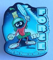 Marvin The Martian 12U Force Softball Pin Badge Looney Tunes Character (E6)