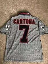 MANCHESTER UNITED SHIRT 1995/96 ADULTS SMALL (S) CANTONA 7