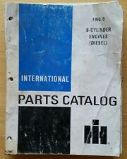 INTERNATIONAL TRACTOR 6 CYLINDER ENGINE PARTS CATALOGUE