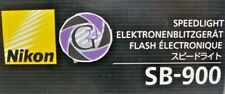 Nikon Speedlight SB-900 - 12 Monate Gewährleistung