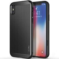 OBLIQ Slim Meta Premium Dual Layer with Metallic Finish Case for iPhone X (2017)