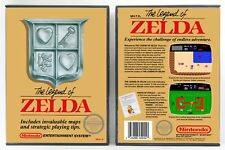 The Legend of Zelda - Nintendo NES Custom Case - *NO GAME*