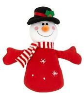 Good Boy Christmas SNOWMAN Singing Chum Plush Great Quality Dog Toy Gift