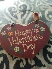 Happy Valentines Day Hanging Decoration