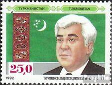 Turkmenistan 11 (compleet Kwestie) MNH 1992 Onafhankelijkheid