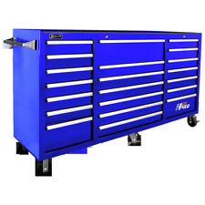 Homak Bl04021720 72 in. 21 Drawer Rolling Cabinet (Blue) New