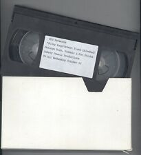 RARE MTV 1994 Page Plant Unledded 3 Cut VHS Promo Video Tape! Led Zeppelin