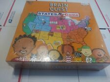 "Factory Sealed ""Brain Quest: States Game"" Geography/History Game For Grades 3-6"