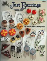 Just Earrings in Plastic Canvas ASN 8839 to stitch on 14 count Plastic Canvas