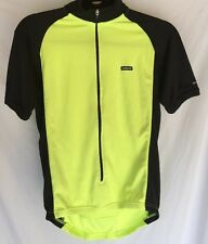 Craft Layer 1 Men's Bike Cycling Jersey 3/4 Zip S Small Neon Yellow