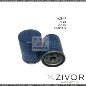 COOPER Oil Filter For Nissan Maxima 3.0L V6 12/99-11/03 - WZ547  *By Zivor*