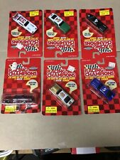 1997 NASCAR LEGENDS 1/64 Lot of 6 CARS ORIG PACKAGES