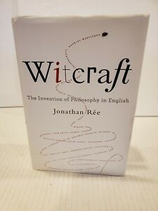 Witcraft By Jonathan Ree (2019) Hardcover