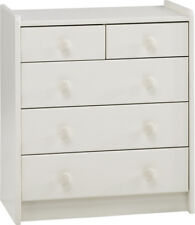 Furniture for kids white MDF childrens bedroom furniture 2+3 chest of drawers
