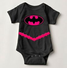 Baby Batgirl Pink One piece