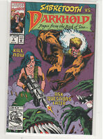 Darkhold: From The Book of Sins #4 Midnight Sons Sabretooth 9.6