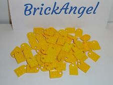 NEW LEGO Yellow Plates 3X2 Modified with Hole Lot of 40 Coupling 3176