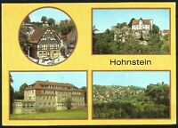 Postcard East Germany Architecture Hohnstein Multiview - posted