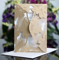 Fashion Laser Cut Wedding Invitation Card